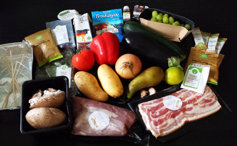 Grillbox von HelloFresh im Test