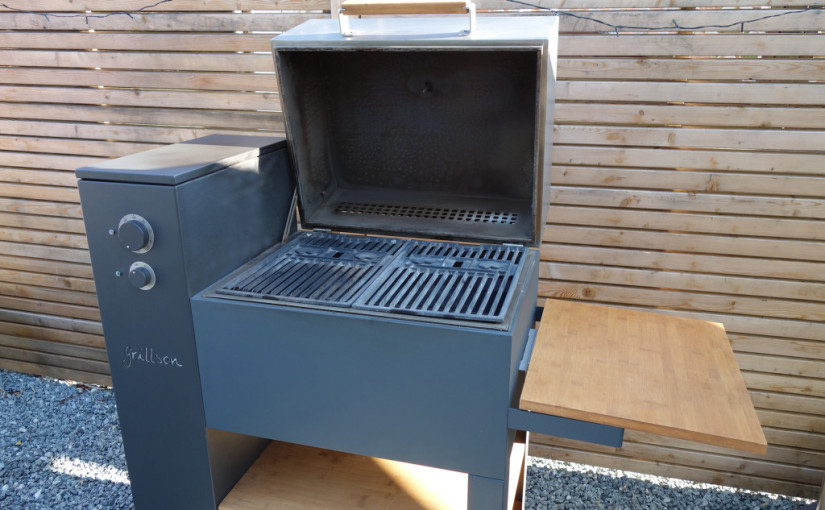 Weber Elektrogrill Pizza Backen : Pelletgrill leif grillson im test: grillen smoken pizza backen